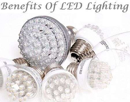 The Advantages & Benefits of LED Lighting