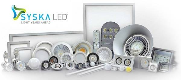 SYSKA LED lighting products in india