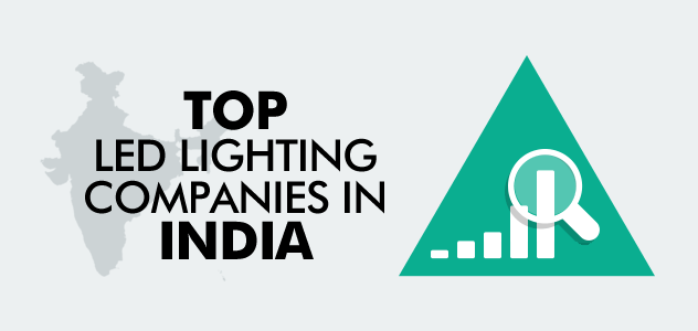 Best led lighting companies in india top 10 list led for Top product design firms