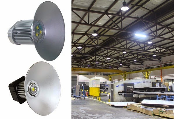 High bay industrial LED light, Types of LED Light fixtures
