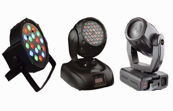 LED stage lights india