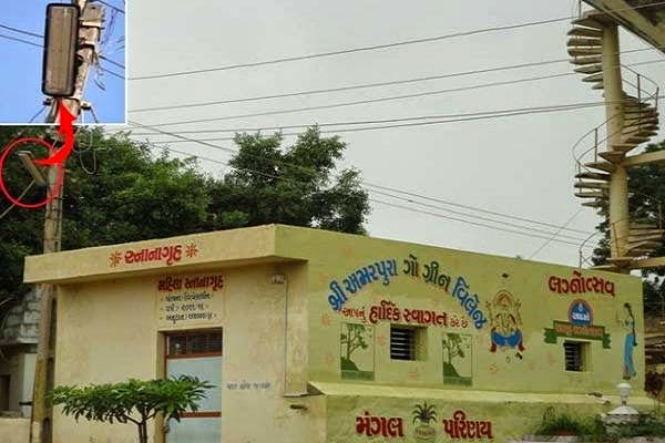 Amrapura is First LED Village of Gujarat