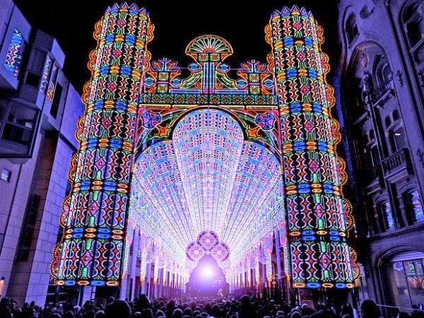luminarie de cagna led cathedral