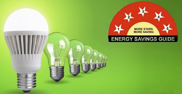led star rating, LED light BEE energy rating