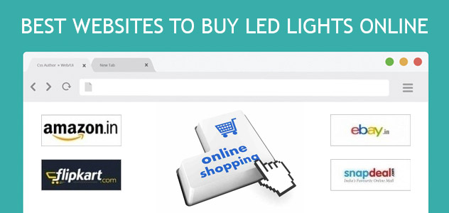 Best websites to buy LED Lights online in India