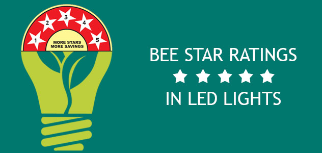 BEE Star Ratings for LED Lights